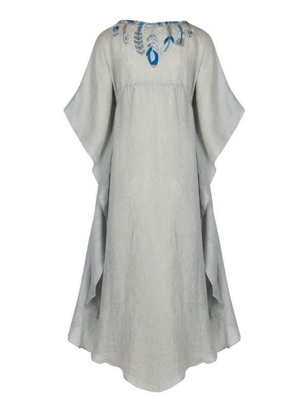 Artemis-Kaftan_grey-blue_Back
